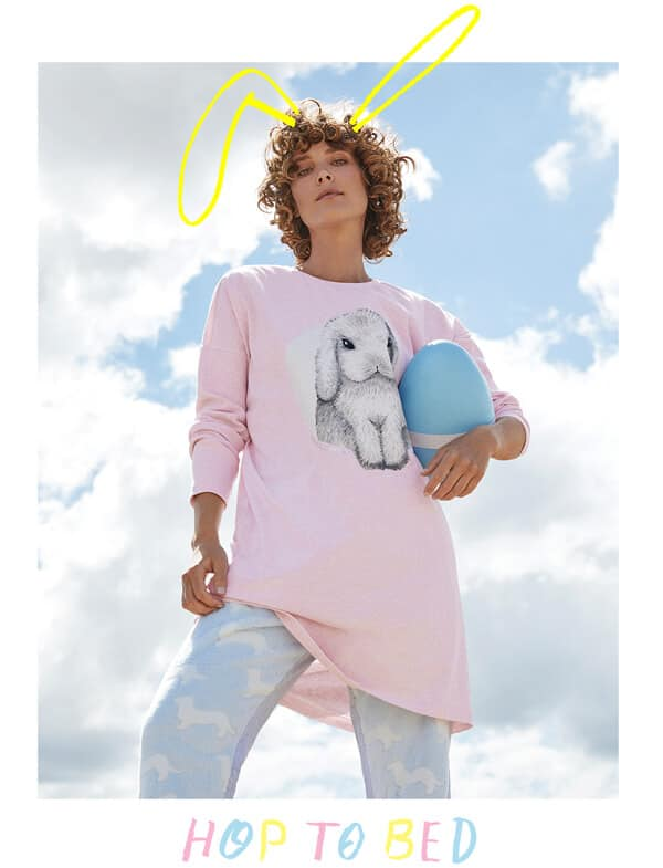 97619d7326e2 Hop into the cosiest PJ s around this Easter with Peter s new collection of women s  sleepwear.