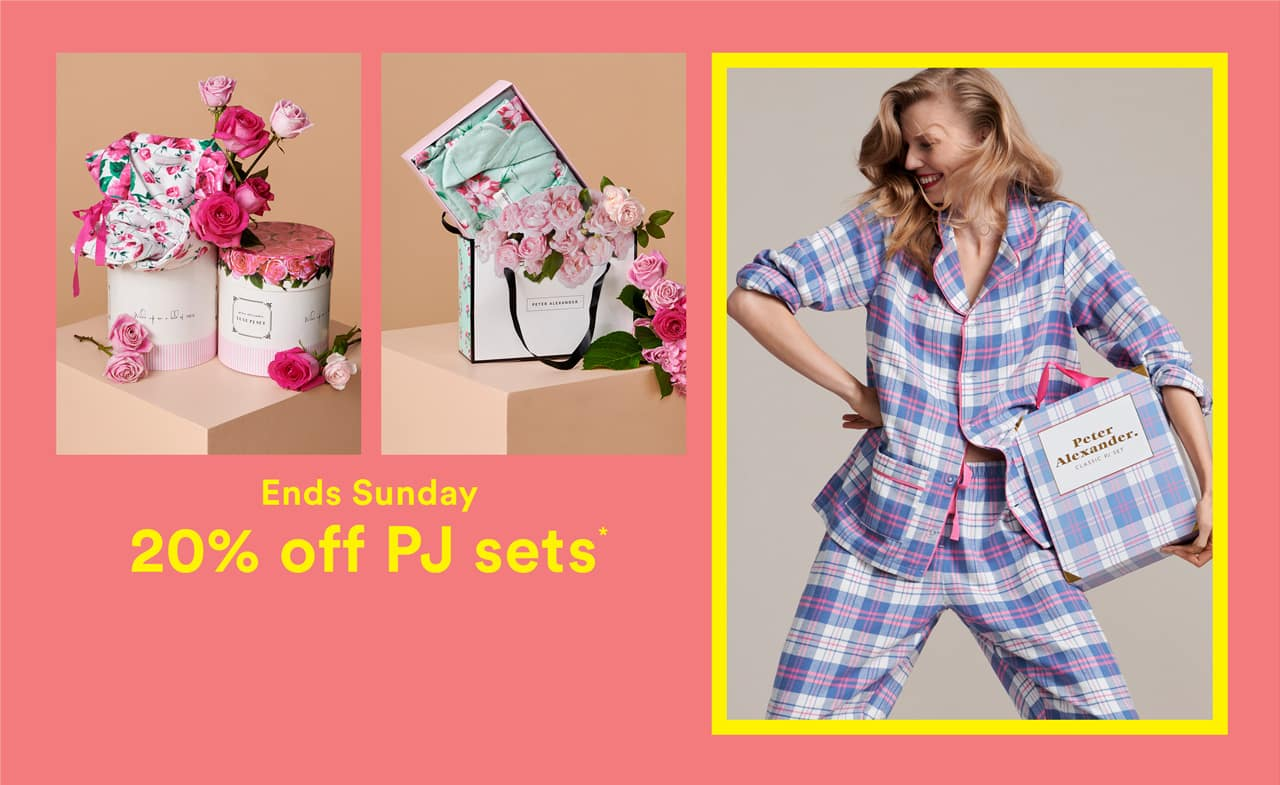 b44f69be8d Say thanks a bunch without the flowers. Peter s beautiful boxed PJ sets are  perfectly packaged and ready to gift this Mother s Day.