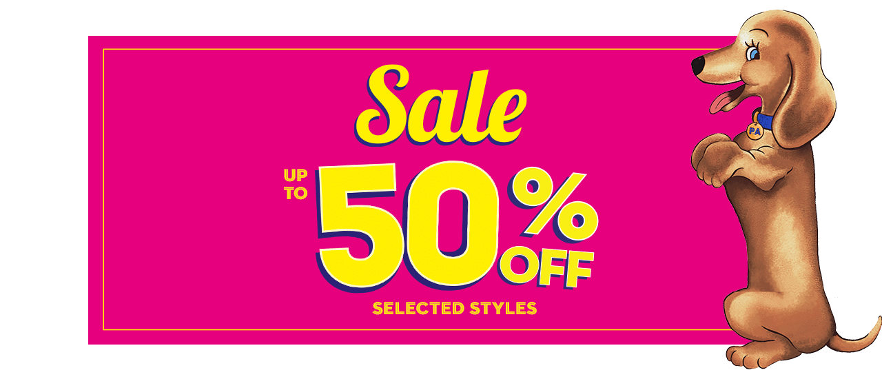 Sale. up to 50% Off over 660 styles*