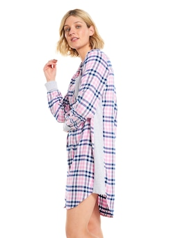 Check Classic Flannelette Nightshirt