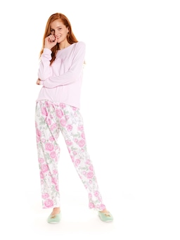 Roses Bunny Bamboo Flannelette Pj Pant