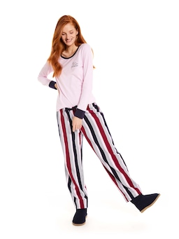Winter Stripe Flannelette Pj Pant