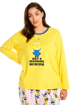 P.A. Plus Minions Long Sleeve Top
