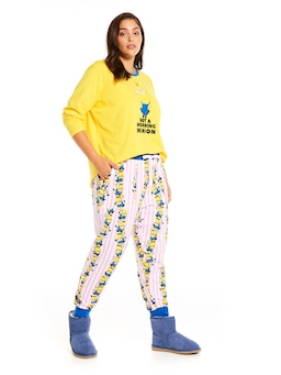 P.A. Plus Minions Stack Easy Pj Pant