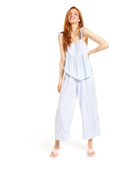 Sailor Stripe Wide Leg Pj Pant