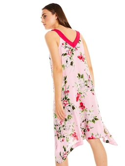 Floral V Neck Nightie