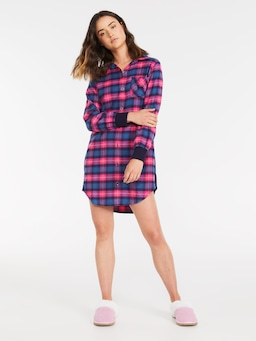 Check Under Your Bed Flannelette Nightshirt