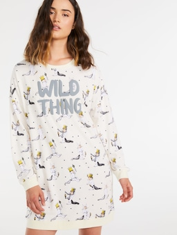 Where The Wild Things Are Sweater Nightie