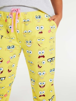 P.A. Plus Spongebob Squarepants Easy Pj Pant