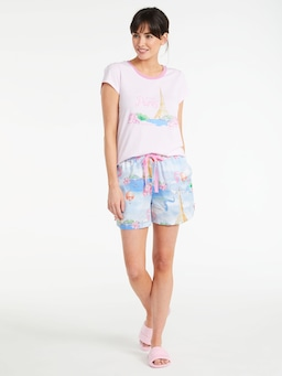Je T'aime Paris Long Short