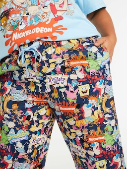P.A. Plus Nickelodeon 3/4 Pj Pant