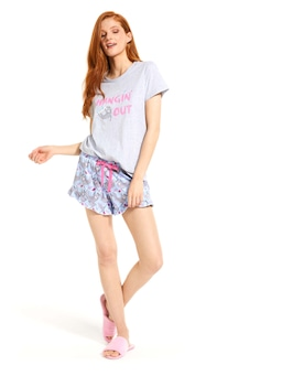 Hangin' Sloth Flutter Mini Short