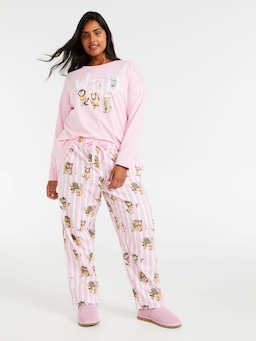 P.A. Plus Where The Wild Things Are Flannelette Classic Pj Pant