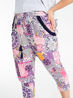 P.A. Plus Mosaic Drop Crotch Pj Pant