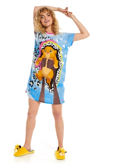 Lion King Simba Slim Sleep Tee