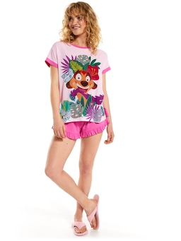 Lion King Pink Timon Tee