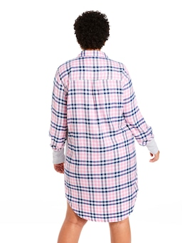 P.A. Plus Check Classic Flannelette Nightshirt