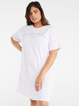P.A. Plus Stripe Sleep Tee