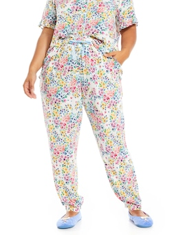 P.A. Plus Ditsy Floral Tapered Pj Pant