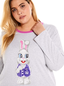 P.A. Plus Cadbury Bunny Long Sleeve Top