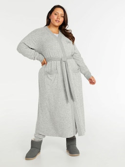 P.A. Plus Fuzzy Gown