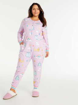 P.A. Plus Cute Cartoon Animal Onesie