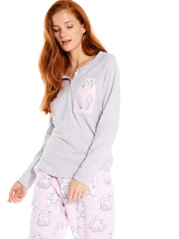 Pocket Bunny Long Sleeve Top