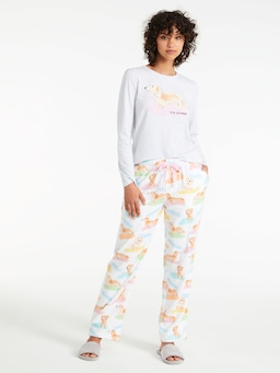 Penny Bamboo Flannelette Classic Pj Pant