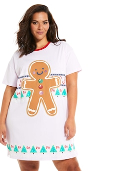 P.A. Plus Gingerbread Sleep Tee