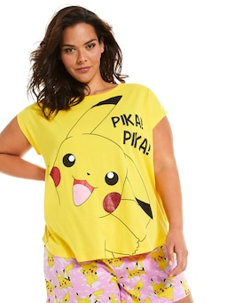 P.A. Plus Pokemon Pikachu Tee