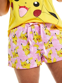 P.A. Plus Pokemon Pikachu Mid Short