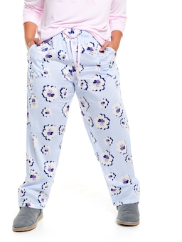 P.A. Plus Big Flowers Classic Pj Pant