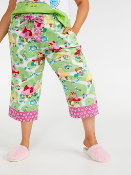 P.A. Plus Smurfs Village 3/4 Pj Pant