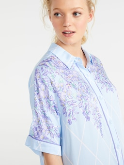 Wisteria Short Sleeve Nightshirt
