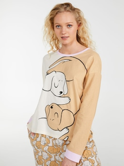 Puppy Hugs Long Sleeve Top
