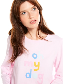 Oh My Dog Long Sleeve Top