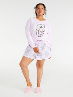 P.A. Plus Hugging Sloth Long Short