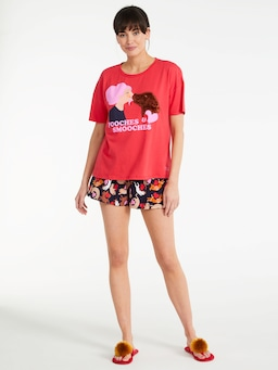 Pooches And Smooches Tee