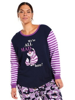 P.A Plus Disney We're All Mad Here Long Sleeve Top