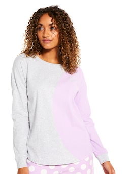 Big Spot Long Sleeve Top