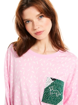 Graphic Spot Long Sleeve Top