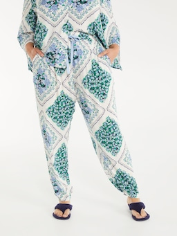 P.A. Plus Garden Tile Tapered Pj Pant