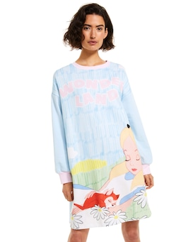 Disney Alice In Wonderland Sweater Nightie
