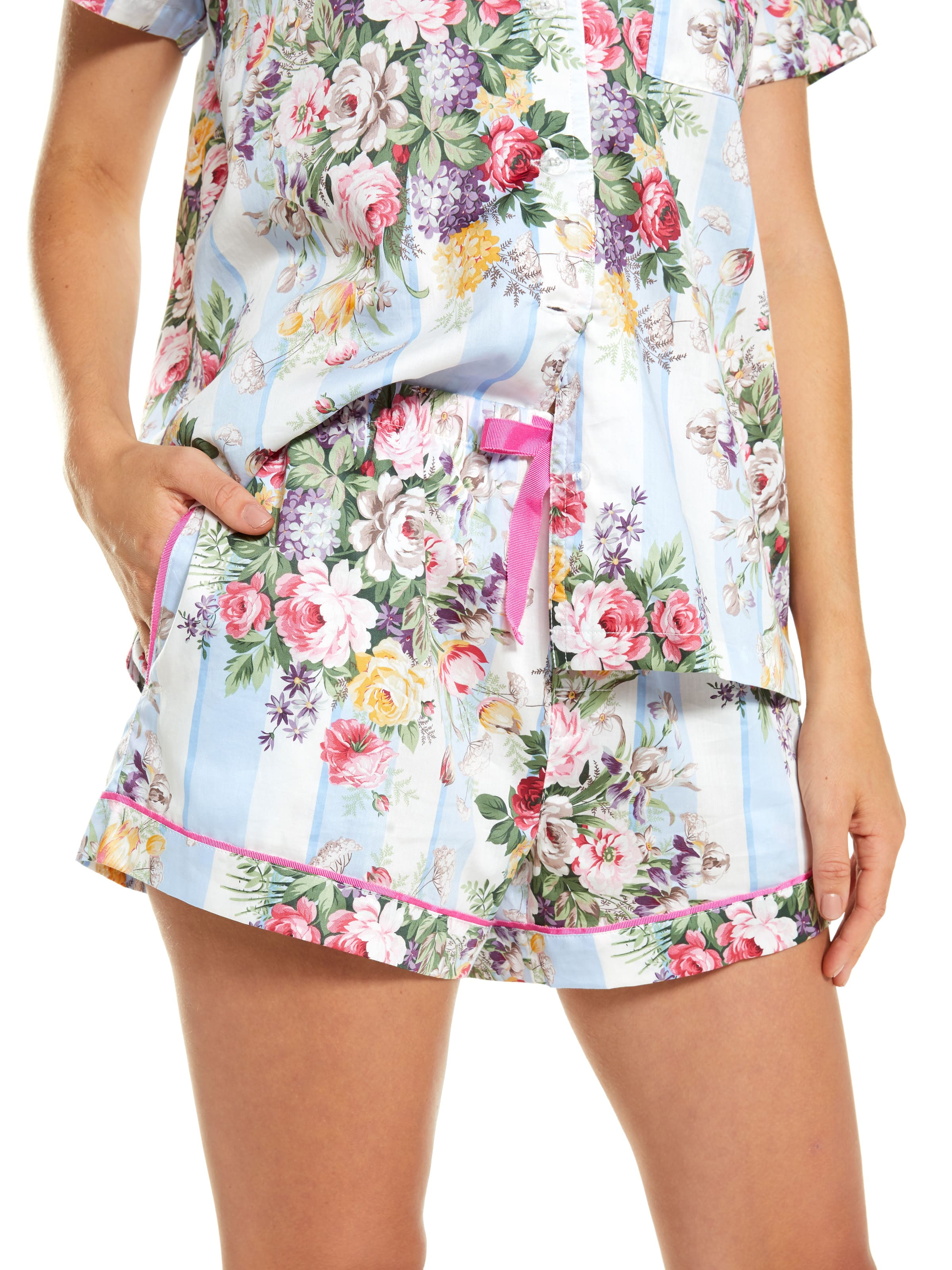 ... Image for Vintage Floral Tux Mid Short from Peter Alexander ... b0a7b69a8