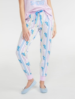 Smurfs Sleepy Smurf Easy Pj Pant