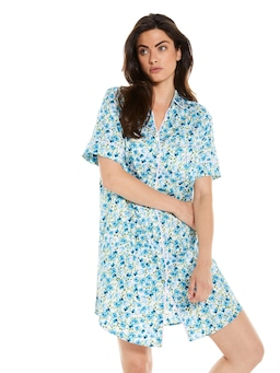 Painted Blue Nightshirt