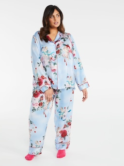 P.A. Plus Cherub Satin Pj Set