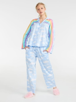 Rainbow Long Pj Set