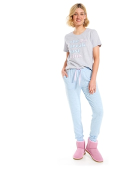 Space Marle Fuzzy Easy Pant