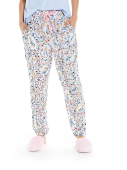 Peter Rabbit Floral Tapered Pj Pant